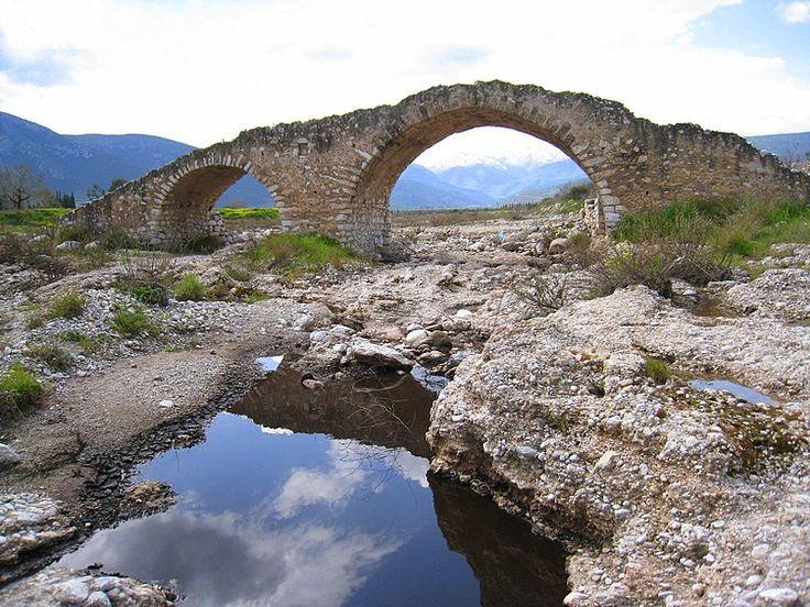 old bridges Greece | Greece Arcadia Agios Andreas old bridge Αγιος Ανδρεας ...