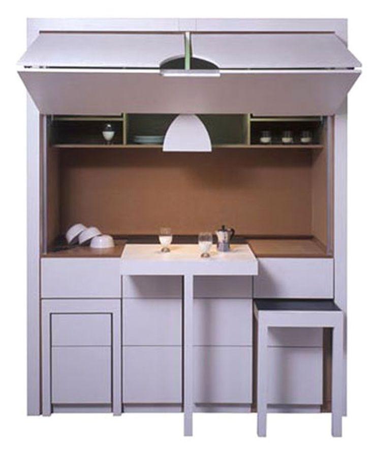 Компактная стенка для маленькой кухни http://on.fb.me/1UiDkUS  Осталось найти место для самого главного...