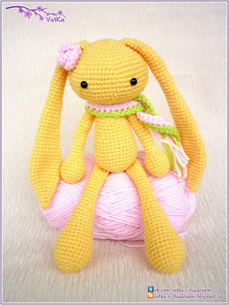 153 best Häschen Hase bunny crochet images on Pinterest | Häkeltiere ...