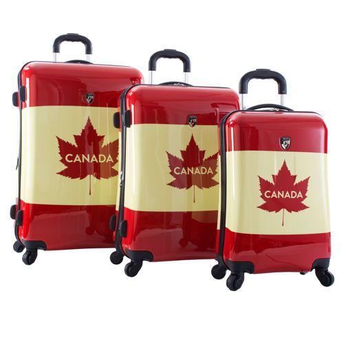Heys Canada Vintage Fashion 3-pc. Hardside Luggage Set