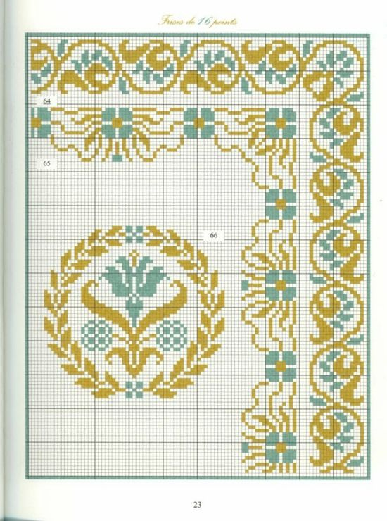 Borders in cross stitch 12