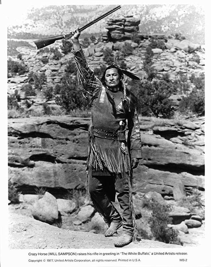 Will Sampson in The White Buffalo (1977) | Western movies ...