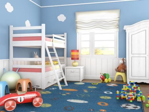 Δώστε χρώμα στο δωμάτιο του παιδιού σας!
