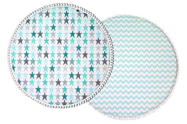 2-seitige Nukko Design Spielmatten bietet dem Kind beim Spielen und Liegen ein hohen Komfort und Sicherheit. Darüber hinaus ist sie auch gut geeignet für Teppich, Tipimatte, Baldachin.  Das tolle...