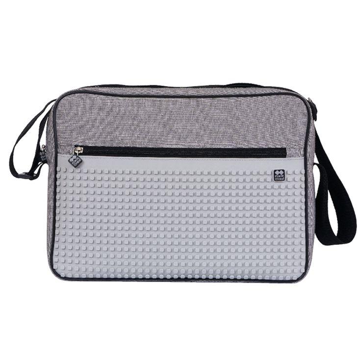 Pixie Messenger taška přes rameno šedá