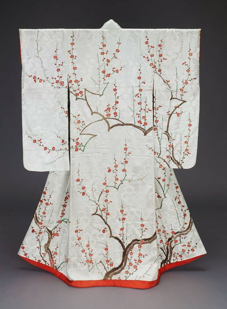 Furisode kimono, Edo period, 19th century, Japan
