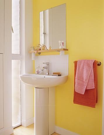 197 best Gray & yellow bathroom ideas! images on Pinterest ...