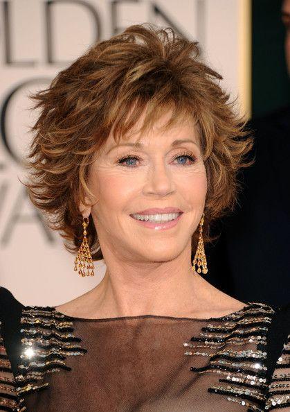jane+fonda+latest+hairstyle   Jane Fonda Actress Jane Fonda arrives at the 68th Annual Golden Globe ...