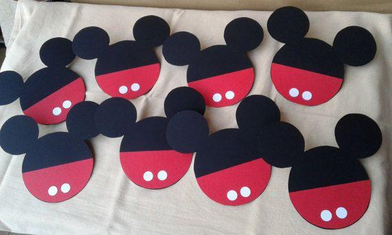 Inviti/Partecipazioni/Topolino/Mickey Mouse/compleanno/bambino/handmade/decorazioni festa di FrancyHappyShop su Etsy