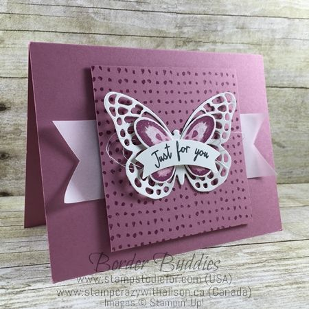 Just in CASE Stampin Up Watercolor Wings Stamp Set Butterflies Thinlits www.stampstodiefor.com