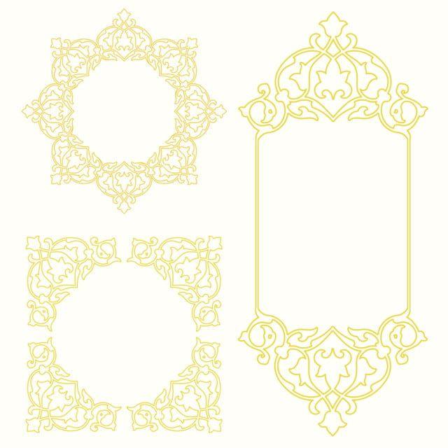 金框 相框藝術 邊框 花香華麗向量圖案素材免費下載 Png Eps和ai素材下載 Pngtree Free Graphic Design Frame Framed Art