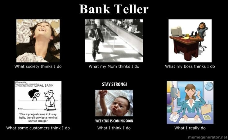 Bank Teller Can T Believe There S One Of These Lol Danielle Davis Trish Hull Kaitlin Jordan