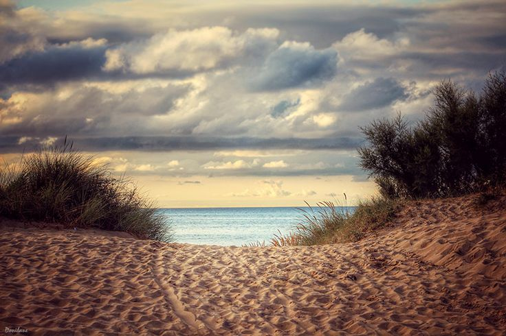 Noja, playa de Ris by Donibane