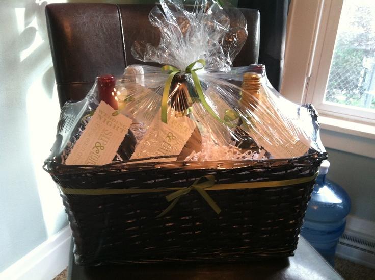 Wedding Wine Gift Basket: 25+ Best Wine Basket Images On Pinterest