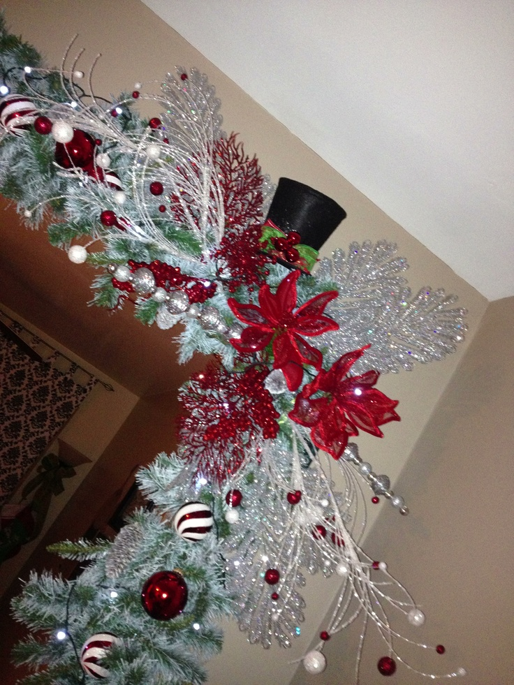 26 Best Images About Christmas Garland Fireplace Diy On