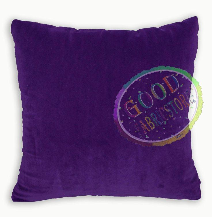 Mf Red Purple Pink Mauve Microfiber Velvet Cushion Cover/Pillow Case Custom Size in Home, Furniture & DIY, Home Decor, Cushions | eBay