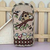 """Handtassen en accessoires.  Fair of Masters - handwerk Geval voor glazen """"Spring mood"""" Japans patchwork.  Met de hand gemaakt."""