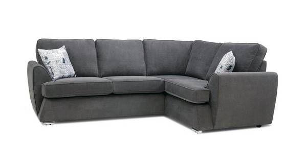 Dora Left Hand Facing 2 Seater Corner Sofa Plaza Dfs Living Room