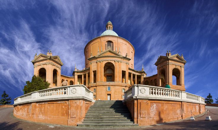 Sanctuary of the Madonna di San Luca - Designed by  Carlo Francesco Dotti in the 18th century for the city of Bologna.