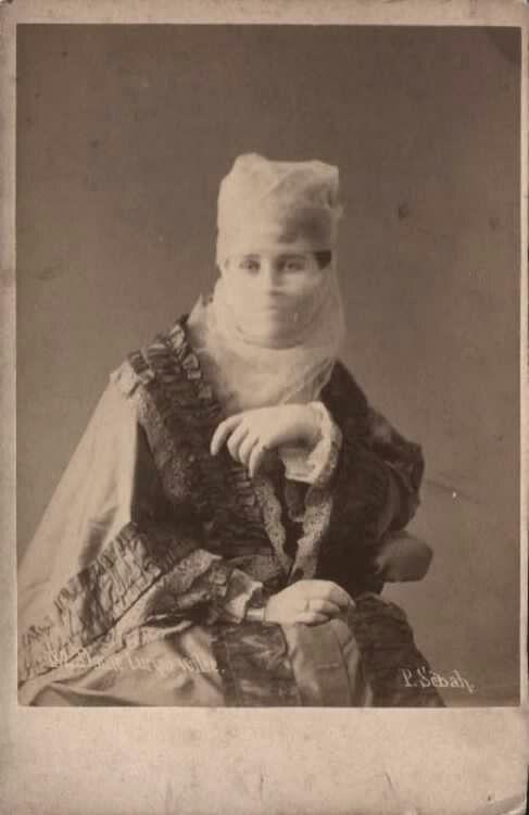 Osmanlı hanımefendisi (1880) Turkish - Ottoman Lady