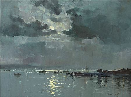 Errol Stephen Boyley - Moonlight Harbour