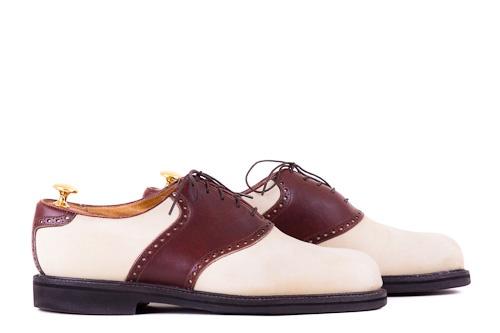 Florsheim Sattelschuhe die Schuhpflegeanleitung