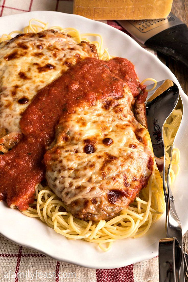 Chicken Parmesan is a classic, delicious meal dish that everyone should have in their recipe collection!