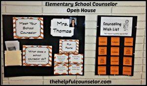 Elementary Counseling - Open House PR - #SchoolCounseling