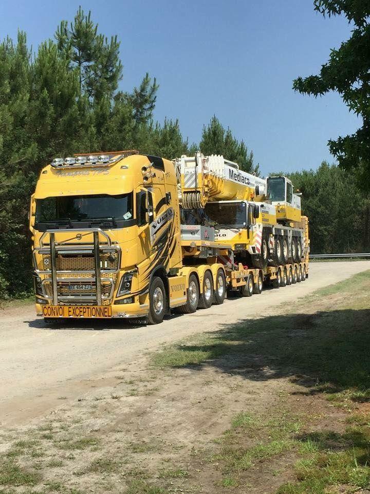 Volvo FH16 750 8x4 Transports TPS