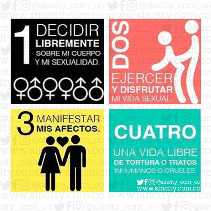 ¿Conoces tus #DerechosSexuales? Están basados en la #libertad, #dignidad e #igualdad, inherente a ti, como ser humano. . Dado que la #salud es un #DerechoHumanoFundamental, la #SaludSexual debe ser un #DerechoHumano básico. . #clasesincity #sincity #sincitycolombia #educaciónsexual #vidasexualplena #vidaenpareja #sexologia #sexualidad #amor #derechoshumanosuniversales #vivirlibre #intimidad
