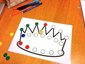 Encore un jeu pour jouer avec un dé et des jetons (promis après j'arrête), cette fois dans une thématique galette : le jeu de la couronne. Règle du jeu : Chaque élève reçoit une couronne. On …