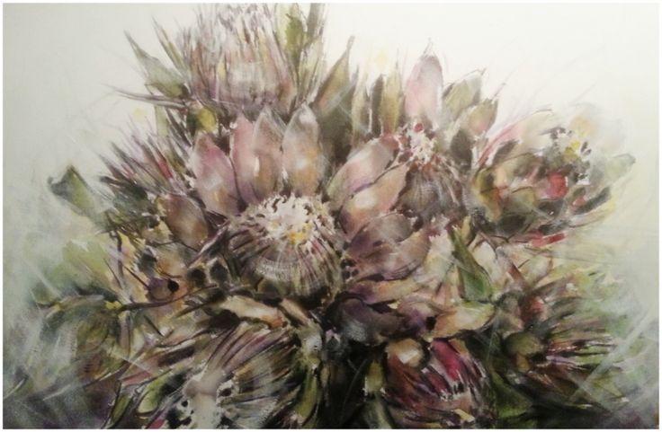 Flowers - Deon Theron Art
