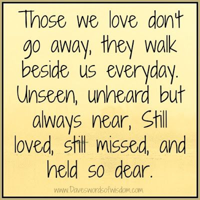 Loss of Loved Ones