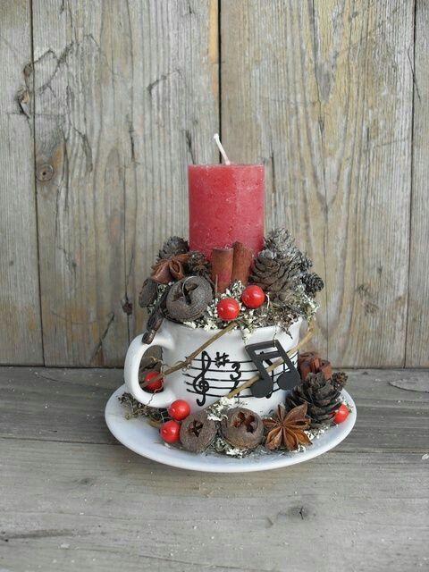 Como Darle Un Toque Navideño A Tus Aburridas Velas Comunes ¡Lucirán Preciosas En Tu Hogar Estas Navidades! | Ideas Geniales