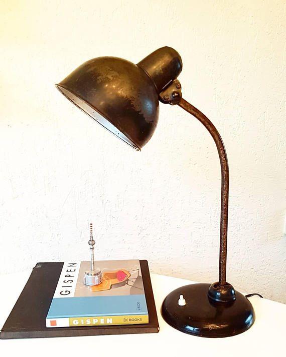 Origineel Kaiser Idell Desk Lamp Jaren 1930 Duitsland Bauhaus Lamp Lamp Light Desk Lamp