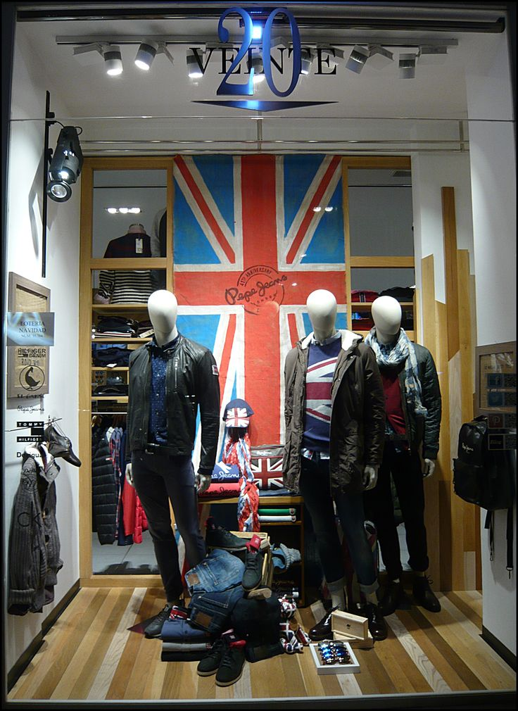 Escaparate pepe jeans hombre visual merchandising - Pepe jeans showroom ...