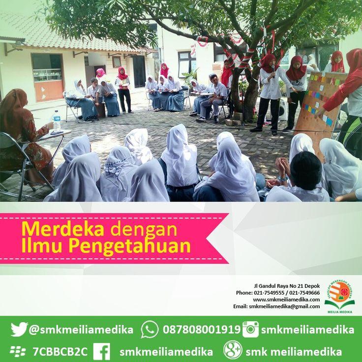 Berilmu #merdeka #sekolah #smk #smkmeiliamedika #keperawatan #cinere #rsmeilia #cibubur #depok #cileungsi #bekasi #bogor #jakarta #tangerang #indonesia