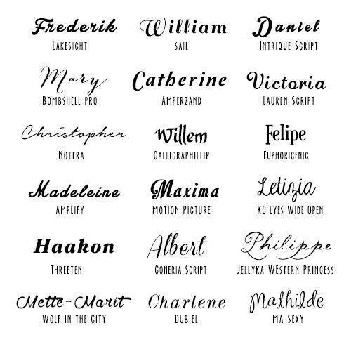 Download Pin by Grace Presley on Calligraphy | Typography fonts ...
