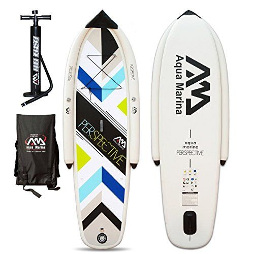 Aqua Marina Perspective Stand Up Paddling Surfboard SUP Paddle Board iSUP