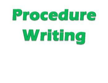 Procedure Writing Headings by Growing Seeds   Teachers Pay Teachers