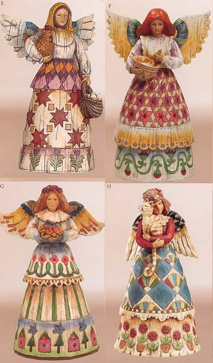 enesco jim shore angels