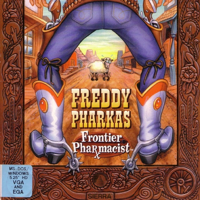 Freddy Pharkas Frontier Pharmacist. Only beaten as the best funny Western adventure when Red Dead Redemption came along.