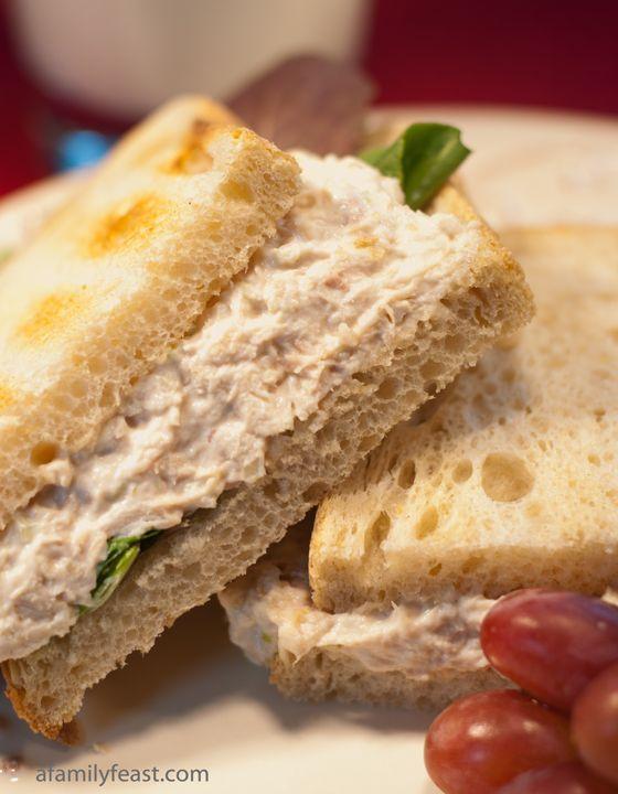 Copycat Willow Tree Chicken Salad - Tastes just like the famous deli recipe!