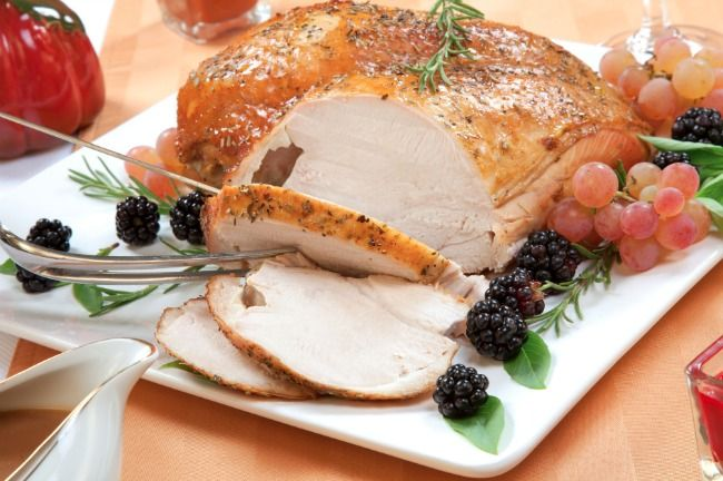 Slow Cooker Paleo Turkey Breast - HEALTHY, TASTY, and so easy to make!  www.GetCrocked.com