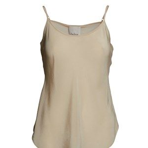 "SUST SILK Elegant camisole, off white.  Exclusive and simple camisole. The camisole has adjustable straps and is super soft. Limited. Made from 100% silk in ""dead stock"", which means that it's made from residues from other collections. Because of that, the camisole is limited."