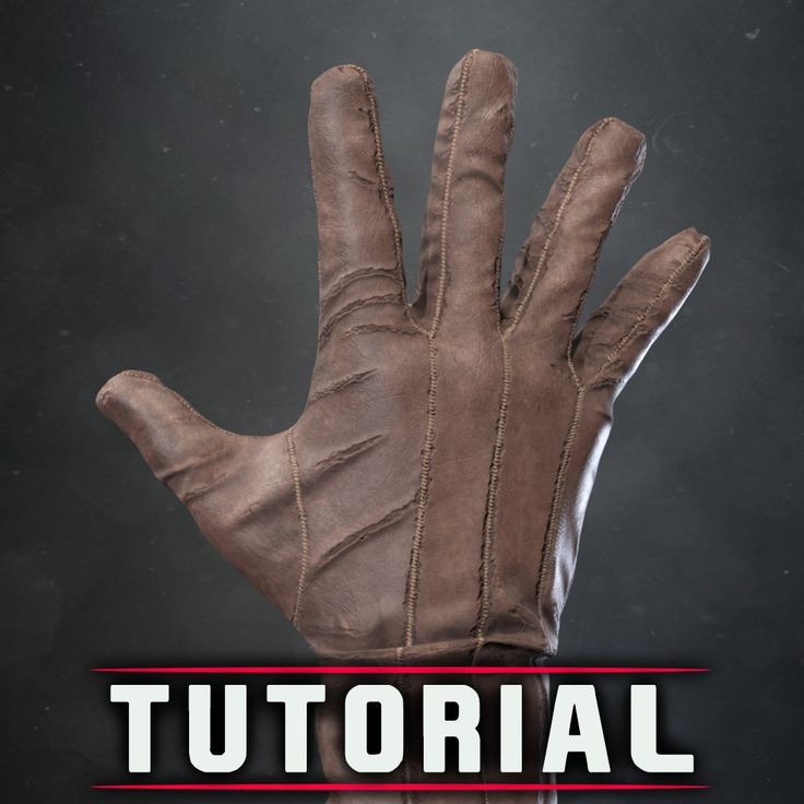 Glove Tutorial, Eddie Ataberk on ArtStation at https://www.artstation.com/artwork/kmyN2