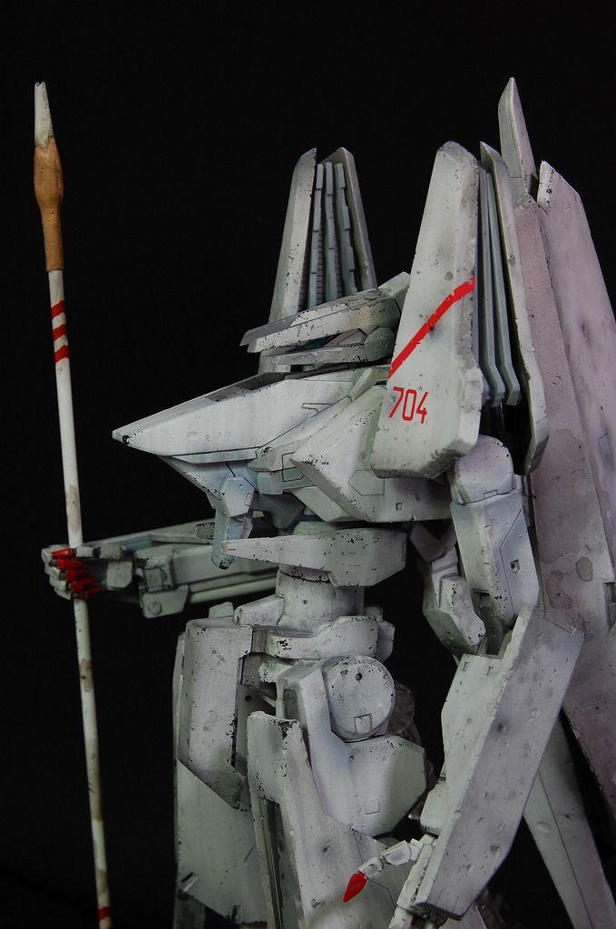 TINAMI - [モデル]1/100 一七式衛人 白月改 継衛  シドニアの騎士
