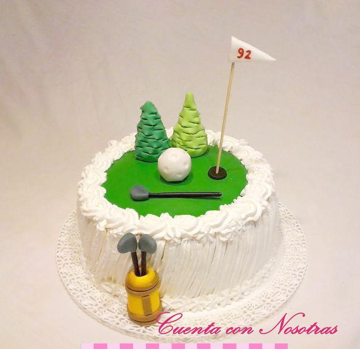 Torta Golf Golf Cake