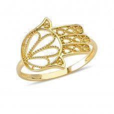 Altın Fatıma'nın Eli Yüzük EJ3002