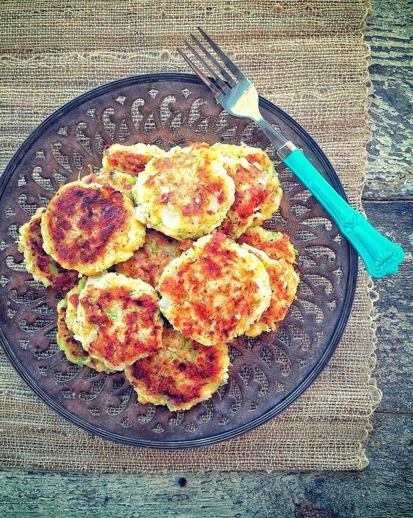 using non dairy cheese of course!  Post image for Broccoli and Cheese Fritters. (Gluten/Grain/Egg Free/Paleo)